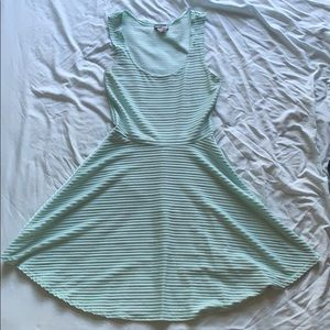 blue wet seal dress, size small